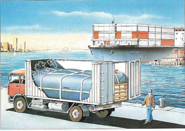CONTAINER TANK货柜式储水囊PRONAL集装箱储水囊